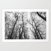 arbres marseillan Art Print