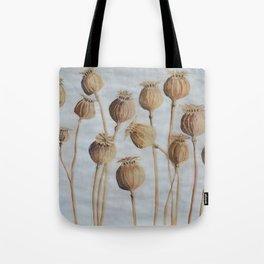 Poppy Pods Tote Bag