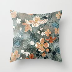 Fading Colors Throw Pillow