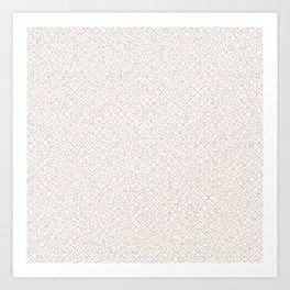 10 Print: Thin Red Art Print