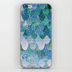 REALLY MERMAID OCEAN LOVE iPhone & iPod Skin