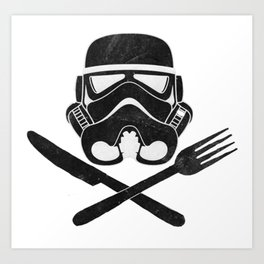 Eat Geek Play Logo Art Print