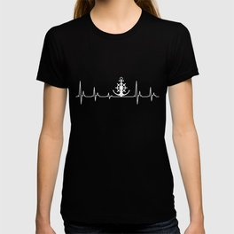 US Coast Guard Heartbeat Tshirt T-shirt