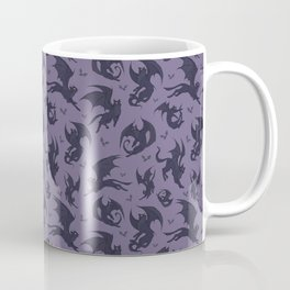 Batcats purple Coffee Mug