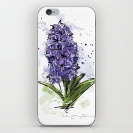 Hyacinth iPhone Skin