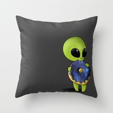 a universe of sweetness Throw Pillow