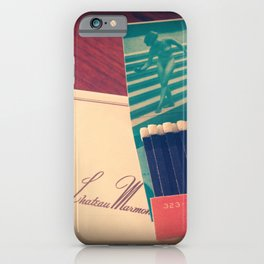 Chateau Marmont Ephemera iPhone Case