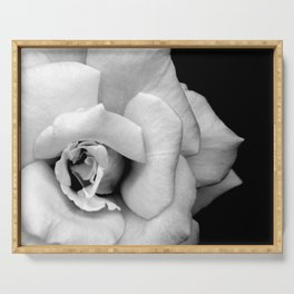 Rose Monochrome Serving Tray