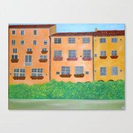 Lungarno, Florence Canvas Print