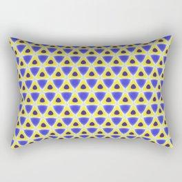 A sea of Triangles Rectangular Pillow