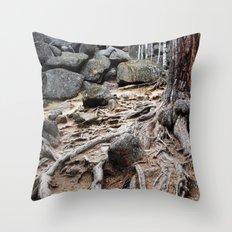 Root Throw Pillow