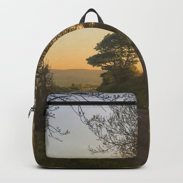 Evening sunset in Ireland Backpack
