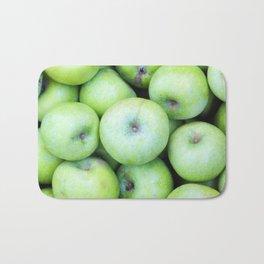 Green apples Bath Mat