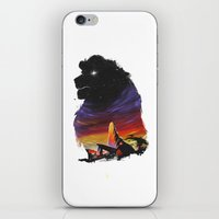 the lion king iPhone & iPod Skins featuring Lion King by Ronan Lynam
