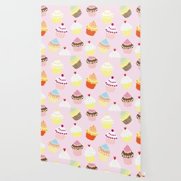 I Love Cupcakes Wallpaper