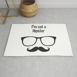 I'm not a HIPSTER Rug