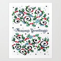 CWG Christmas Art Print