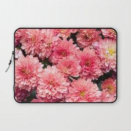 Autumn Kiss Chrysanthemums #1 #floral #art #Society6 Laptop Sleeve