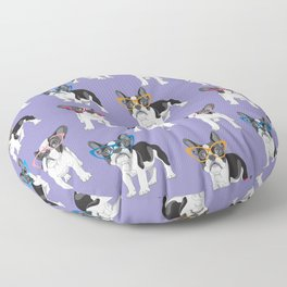 puppy for love  Floor Pillow