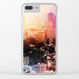 City of Color Clear iPhone Case