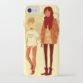 Ymir and Historia iPhone Case