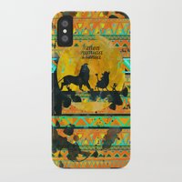 simba iPhone & iPod Cases featuring Timon, Pumbaa & Simba. by Sara Eshak