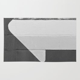 Arrow (Black and White) Rug