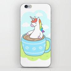 Unicorn Coffee iPhone & iPod Skin