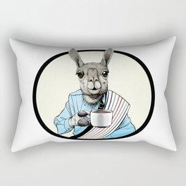 Java Llama Rectangular Pillow