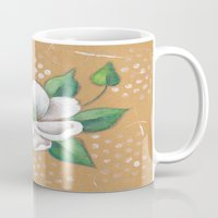 magnolia Mugs featuring Magnolia by Judy Skowron