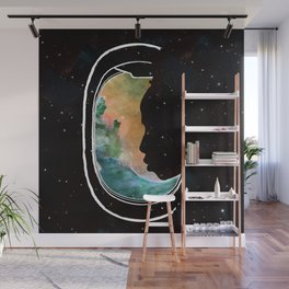People of the Universe-Multiverse Commuter-Yellow Wall Mural