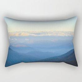 Clouds at eye level  Rectangular Pillow