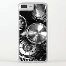 Hubcaps Clear iPhone Case