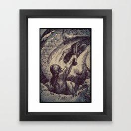 Dragonslayer Framed Art Print