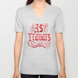 AS TRAVARS Unisex V-Neck