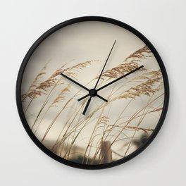 Wild Oats to Sow Wall Clock