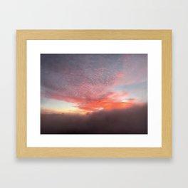 Haleakala Sunrise Framed Art Print