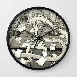 A Meeting of the All Mine Wall Clock