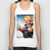 thor Tank Tops featuring Thor by Boisson