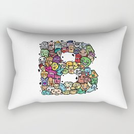 Alphabet B. The alphabet series Rectangular Pillow
