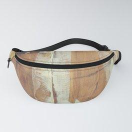 Wood planks shipboard Fanny Pack
