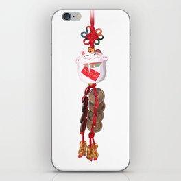 Maneki-neko iPhone Skin
