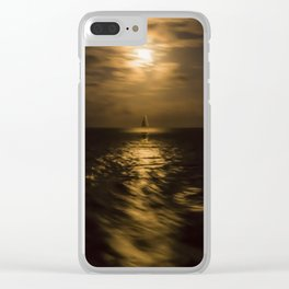 I'll Sail Away Clear iPhone Case