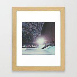 skate harder Framed Art Print