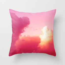 The battle of the light and shadow Throw Pillow