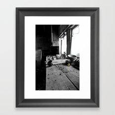 In house Framed Art Print