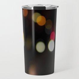 Blurry Lights WYR Travel Mug