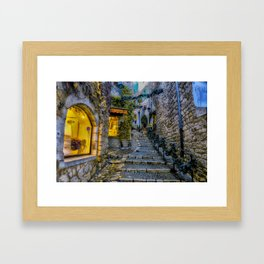 Stairway to somewhere  Framed Art Print