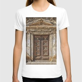 Roman Marble Doorway Photograph T-shirt