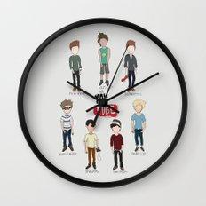 Youtube Boys  Wall Clock